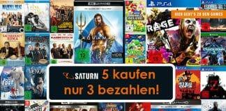 5 Filme und/oder Games kaufen und nur 3 bezahlen! Jetzt bis zu 40% sparen!