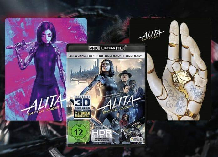 Engel in dreifacher Ausführung: Die 4K Blu-ray Varianten von Alita: Battle Angel