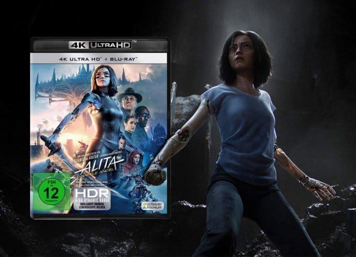 Alita: Battle Angel erscheint wohl im August auf 4K UHD Blu-ray