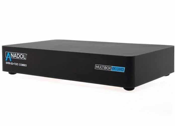 Anadol Multibox 4K UHD Receiver