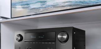 Der Denon AVR-X2600H ist einer von drei neuen AV-Receivern innerhalb der X-Serie