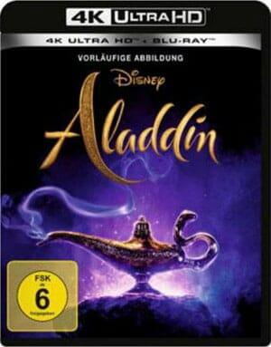 """Vorläufige Cover-Abbildung zu """"Aladdin (2019)"""" auf 4K Blu-ray"""