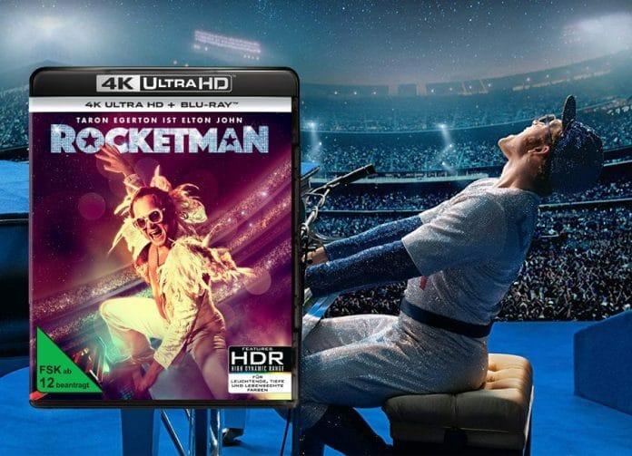 Taron Egerton (Elton John) in Bestform - Rocketman erscheint auf 4K Blu-ray