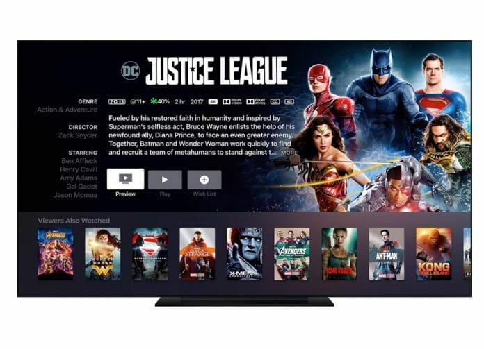 4K/HDR Filme auf iTunes wurden kürzlich auf HD-Qualität herabgestuft
