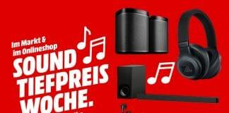 Sound Tiefpreis-Woche auf MediaMarkt.de & im Laden
