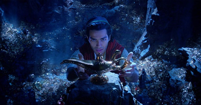 Meisterdieb Aladdin kann sich dem Zauber der Lampe nicht entziehen