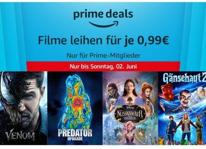 10 Filme fürje nur 99 Cent ausleihen!