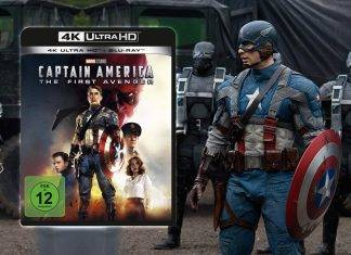 """Captain America: The First Avenger"" 4K Blu-ray im Test / Review"