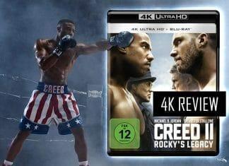 'Creed 2 - Rockys Legacy' 4K Blu-ray im Test. Der Film kann einige Treffer landen, leider gibt es auch böse Nierenhaken!