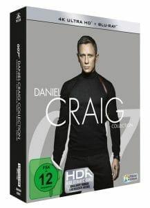 Die Daniel Craig Collection auf 4K Blu-ray erscheint am 24. Oktober 2019