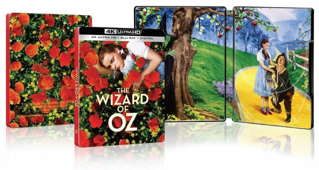 Der Zauberer von Oz als 4K Blu-rays Steelbook in der US-Version