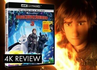 """Selten findet eine Trilogie so einen guten Abschluss, wie unser Test der """"Drachenzähmen leicht gemacht 3"""" 4K Blu-ray beweist"""