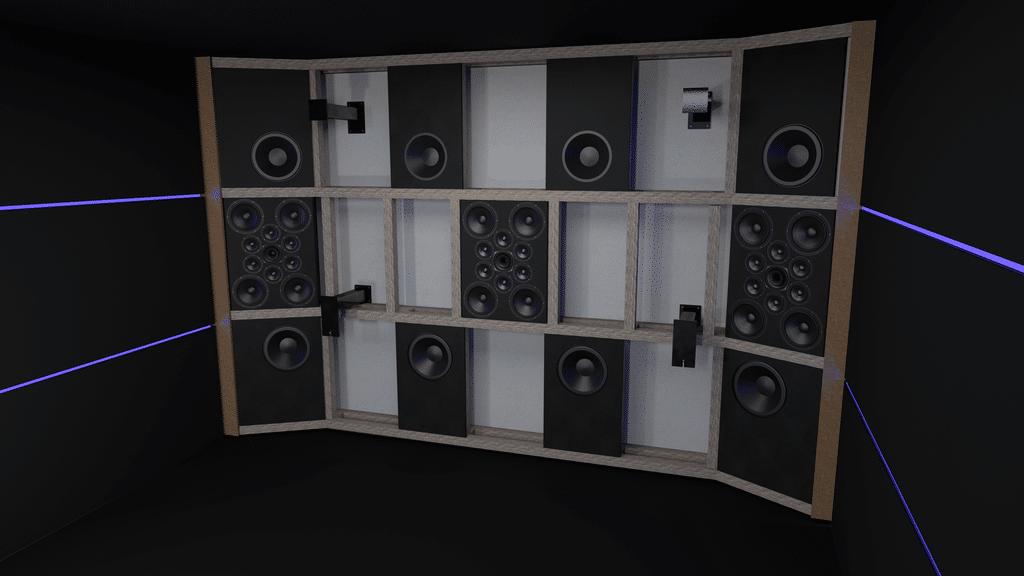 Ein Ultimate Audio Aufbau für ein Heimkino inkl. Raumanpassung