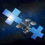 Illustration des Eutelsat 7C Satelliten Bild: Space Systems/Loral (SS/L))