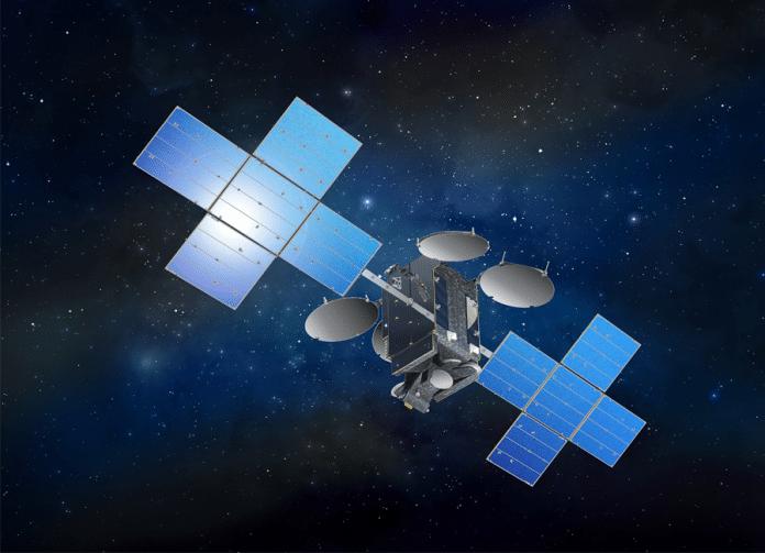 Illustration des Eutelsat 7C Satelliten Bild: Space Systems/Loral (SS/L))