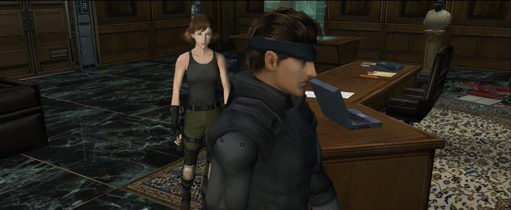 """Allein die neu berechneten, hochauflösenden Texturen verleihen dem Klassiker """"Metal Gear Solid: Twin Snakes"""" einen frischen, neuen Look"""