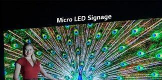LG präsentierte seine professionelle MicroLED Display Lösung auf der InfoComm 2019