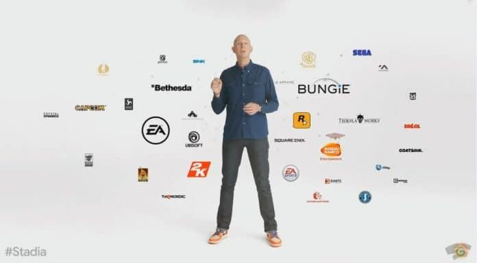 Spielentwickler Google Stadia Plattform