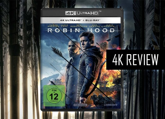 Robin Hood 4K Blu-ray in unserem Test/Review!
