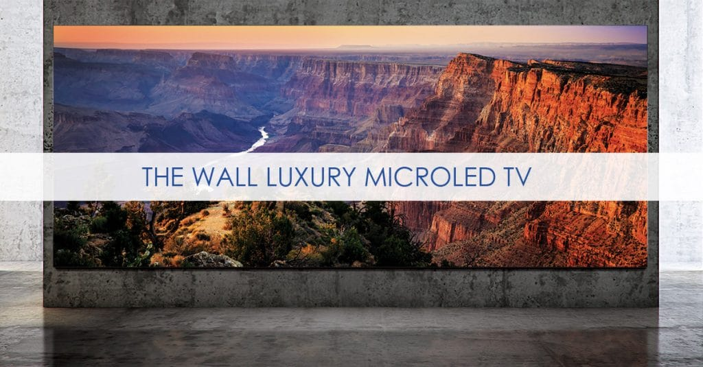 "Samsungs MicroLED TV ""The Wall Luxury"" kommt endlich in den Handel"