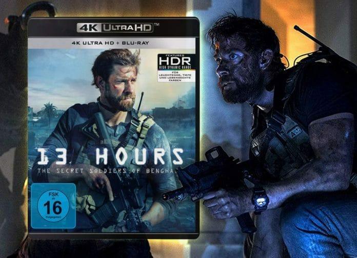 13 Hours auf 4K Blu-ray in unserem Test