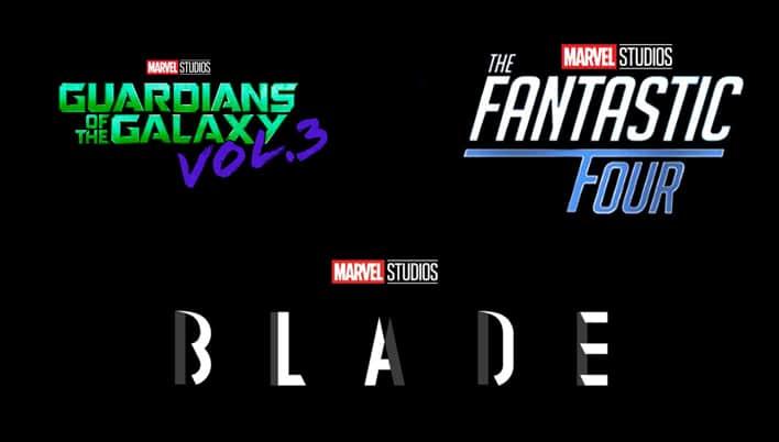 Darüber hinaus soll noch Guardians of the Galaxy Vol. 3, The Fantastic Four und Blade in 2022 erscheinen
