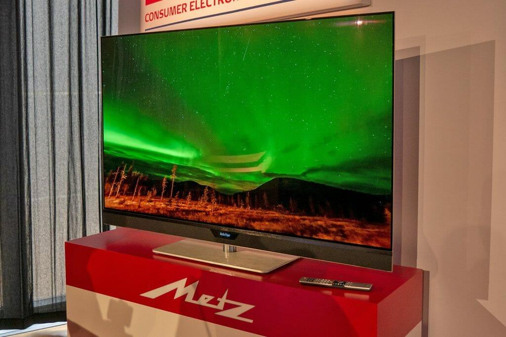 Die METZ Classic OLED TVs werden ab Werk kalibriert!