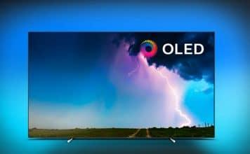 OLED754 4K OLED TV von Philips mit SAPHI