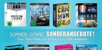 Über 1.500 Filme & Serien zum Teil deutlich reduziert - inkl. 4K Ultra HD Blu-rays