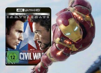 The First Avenger: Civil War auf 4K Blu-ray im ausführlichen Test