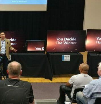 Im 2019 TV-Shootout von HDTV-Test muss sich Samsungs Q90R gleich drei OLEDs stellen