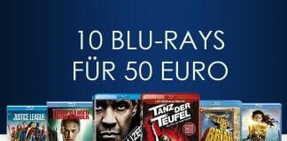 10 Blu-rays für nur 50 Euro