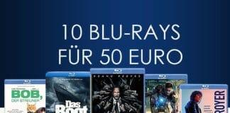 Macht eure Filmsammlung Winterfest, mit der 10 Blu-rays für 50 Euro Aktion!
