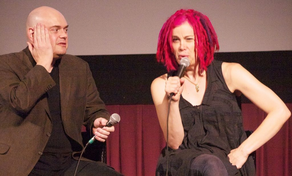 Lilly (links) und Lana Wachowski https://www.flickr.com/photos/annaustin/8204529660/