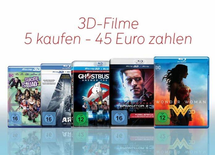 Freude des 3D-Films sollten zuschlagen. Fünf 3D Blu-rays kaufen und nur 45 Euro bezahlen!