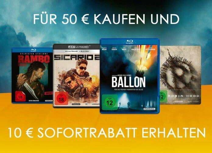 20% Rabatt auf eine breite Auswahl von Filmen und Serien inkl. 4K UHD Blu-rays