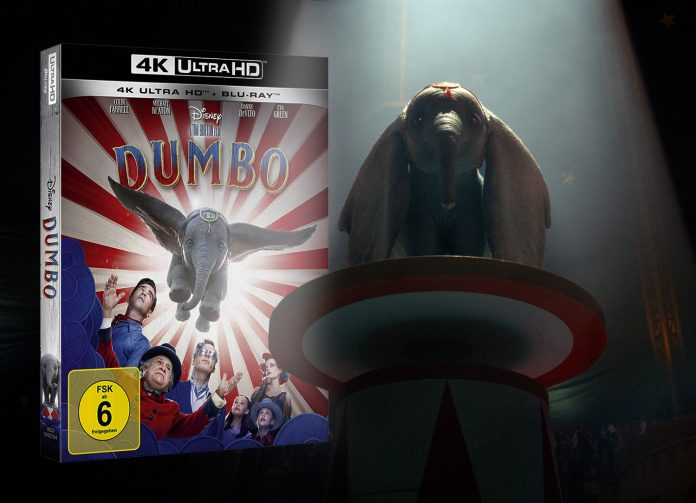 Dumbo 4K Blu-ray im Test