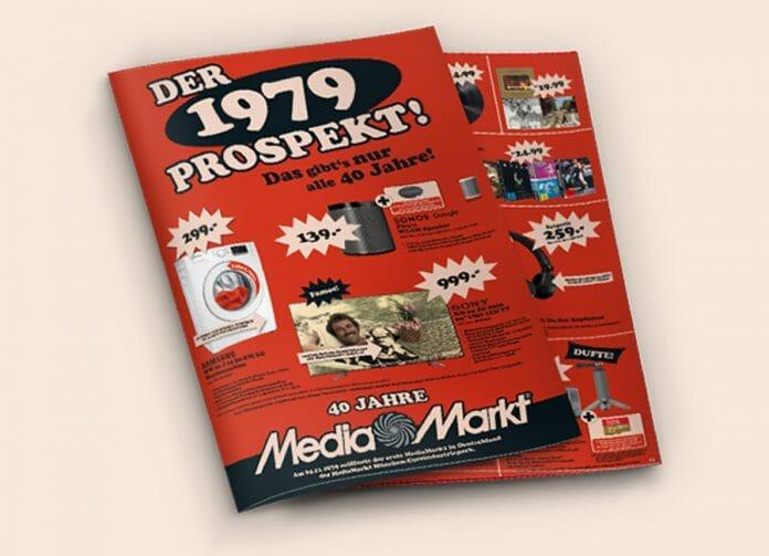 Einkaufen wie vor 40 Jahren: Der 1979 Prospekt von Media Markt