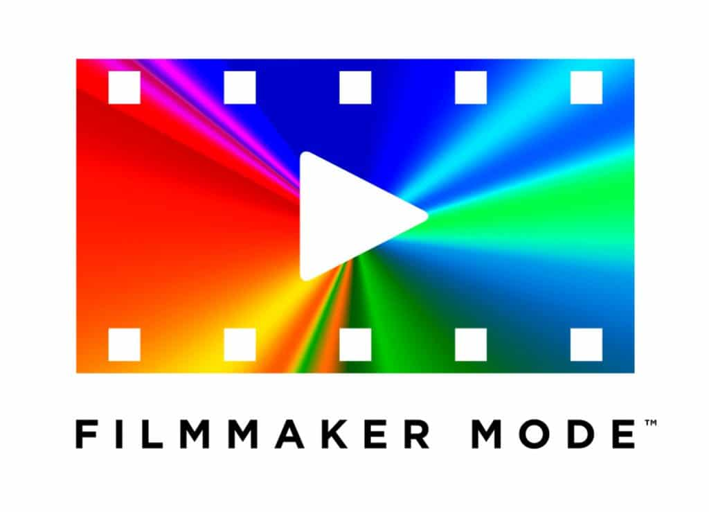 "Logo des ""Filmmaker Mode"" der UHD Alliance"