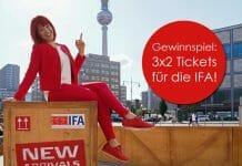 Jetzt die Chance nutzen und 3x2 Tickets für die IFA 2019 gewinnen!
