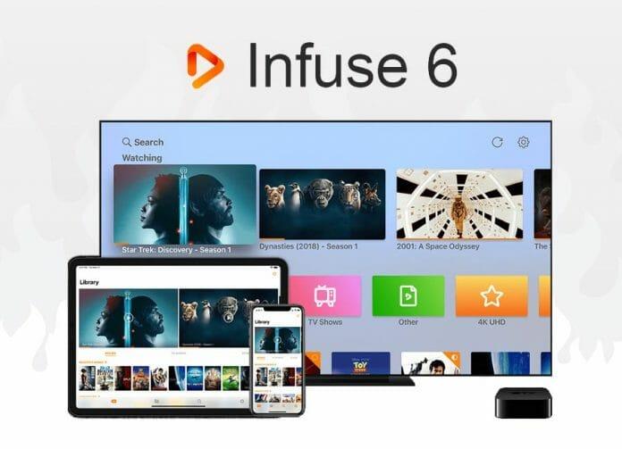 Die Infuse 6 Player App für den Apple TV 4K unterstützt ab sofort Dolby Vision