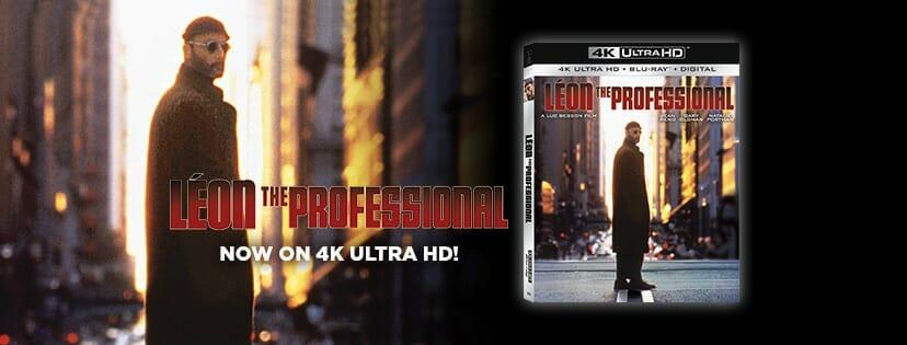 Leon der Profi 4K Blu-ray Cover