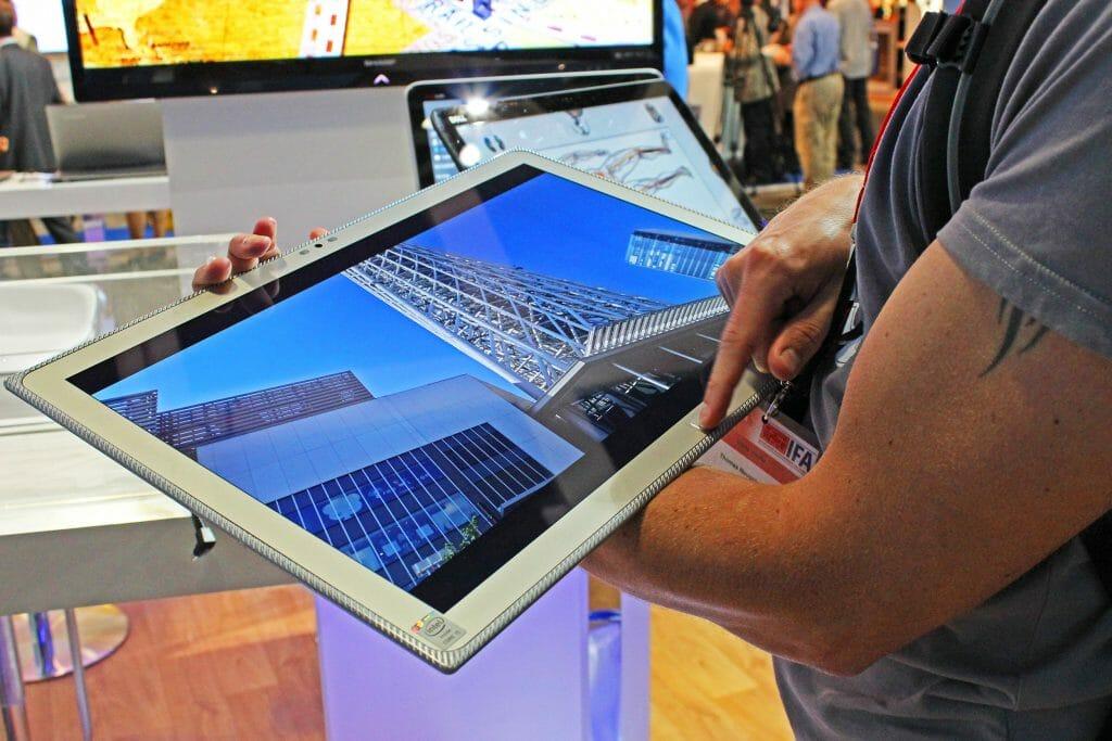 20 Zoll 4K Tablet von Panasonic
