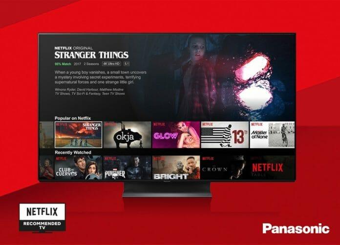Panasonics 2019 OLED TVs sind optimal für die Wiedergabe des Netflix Portfolios