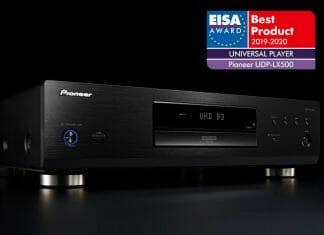 """Der Pioneer UBP-LX500 erhält den EISA Award für den """"Besten universellen Player"""""""