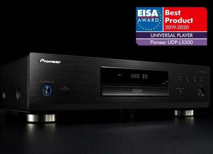 Der Pioneer UBP-LX500 erhält den EISA Award für den
