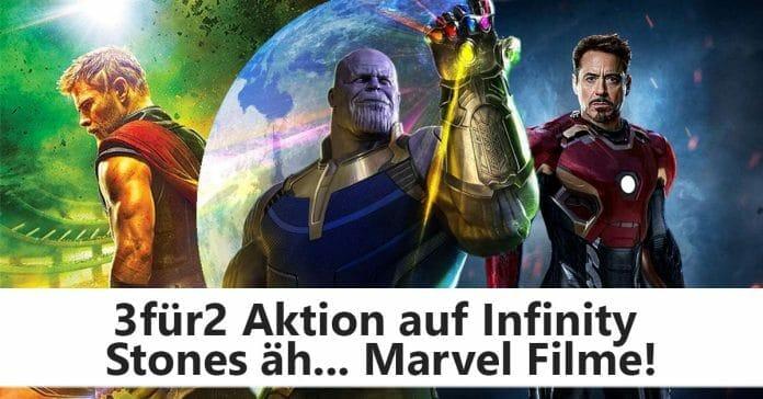 3 für 2 auf ausgewählte Marvel Filme auf Amazon.de
