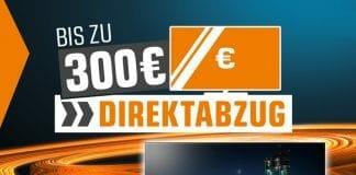 Mit dem Direktabzug von bis zu 300 Euro auf OLEDs unterbietet Saturn die Konkurrenz