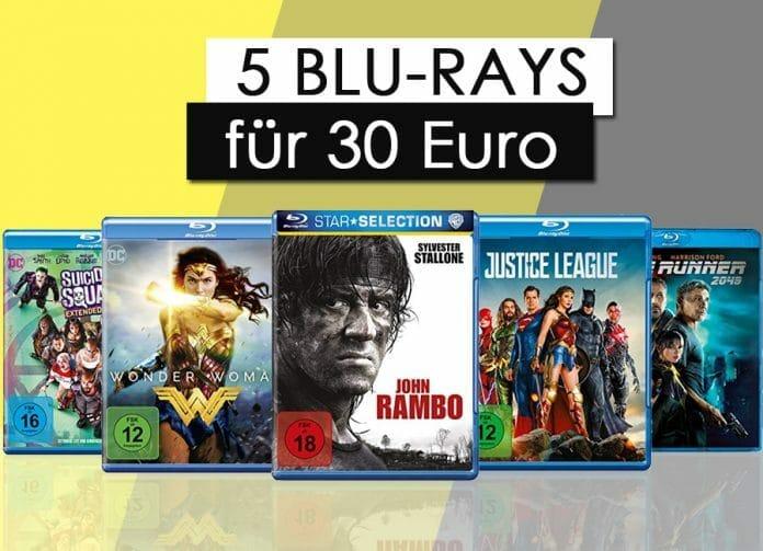 5 Blu-rays für 50 Euro! Wählt aus über 1.500 Titeln!