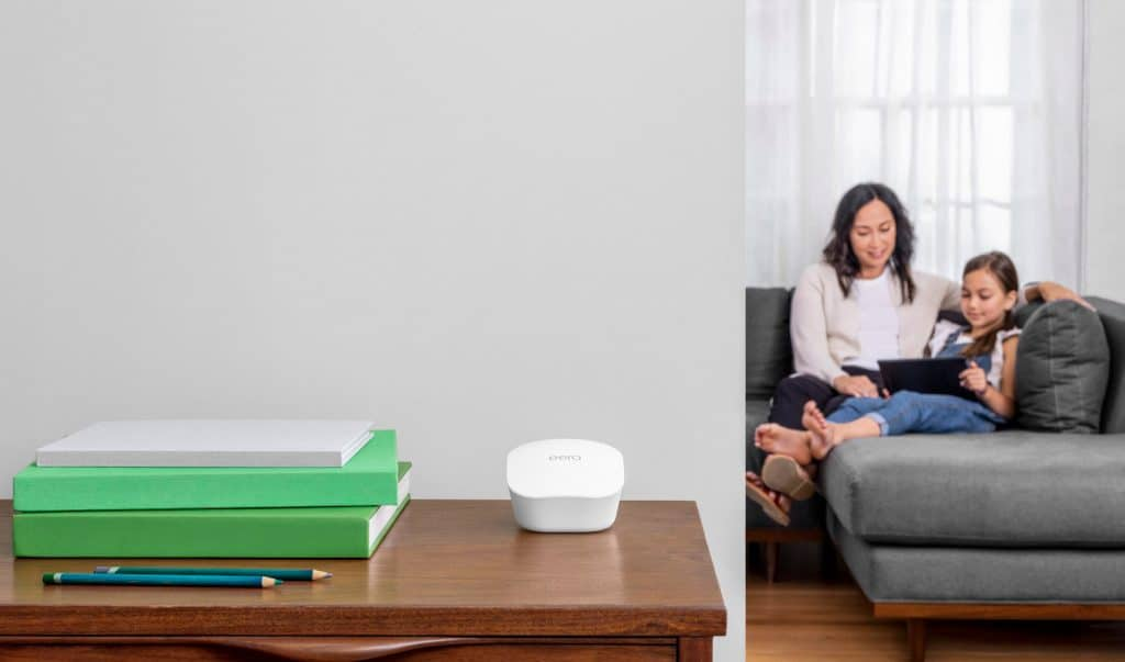 Mit dem Amazon eero lässt sich ein verlässliches Mesh-Wifi aufbauen